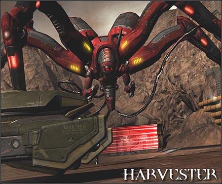 Harvester | Enemies - Quake 4 Game Guide & Walkthrough