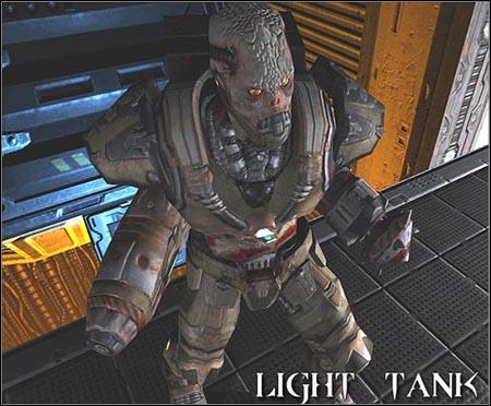 Light Tank | Enemies - Quake 4 Game Guide & Walkthrough