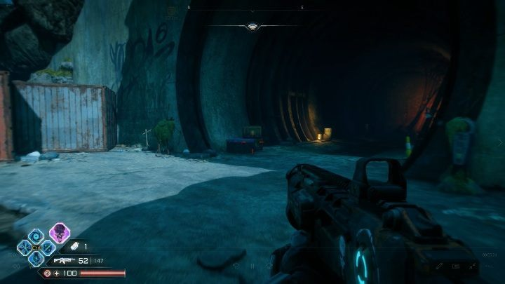 The entrance to this location is in the tunnel, shown in the picture above - Mutie Nests - D and Ds Hood - Rage 2 - Mutie Nests - Rage 2 Guide