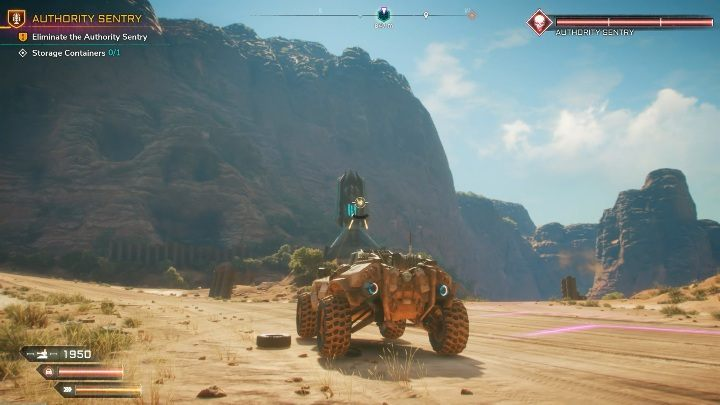 There are 2 Authority Sentries in Twisting Canyons - Brocken Track Map | Rage 2 - World Atlas - Rage 2 Guide