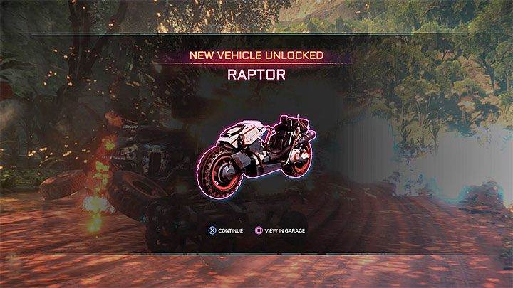 Once advanced to level 10 you should get confirmation that the Raptor has been unlocked - On The Limit | Rage 2 Trophy guide - Trophy Guide - Rage 2 Guide