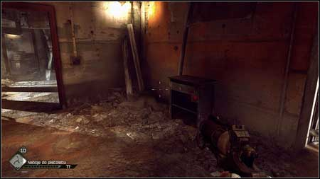 Enter the room to the right and keep at its left side - Quake - Special id rooms - Rage - Game Guide and Walkthrough