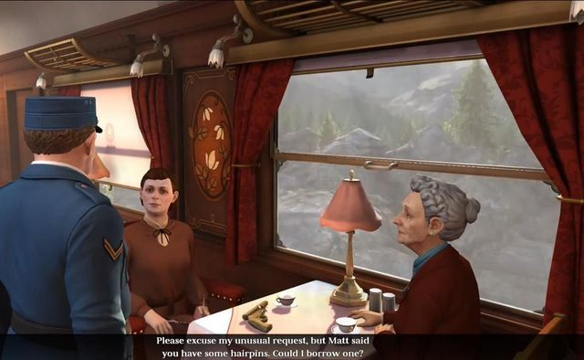 The adventure starts in the famous Orient Express - The Raven Remastered Game Guide