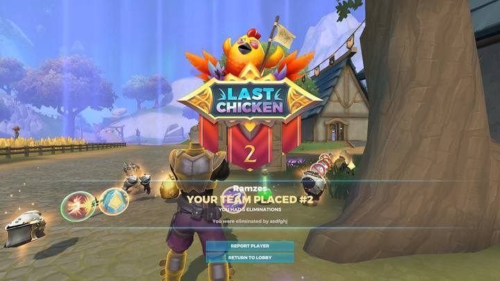 End and summary of the match in Realm Royale - Realm Royale Game