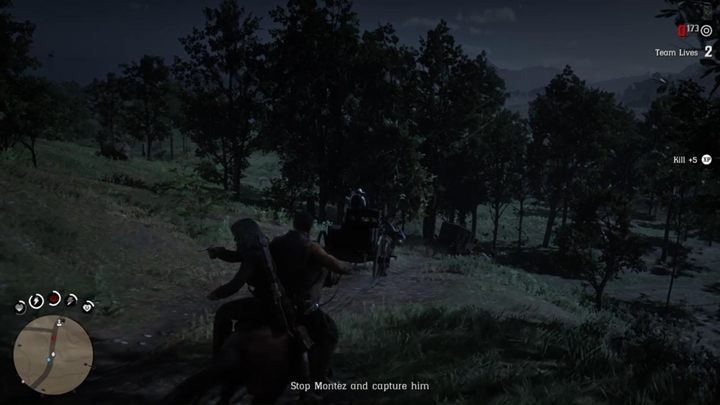 Follow the stagecoaches and shoot the enemies - Highly Illegal and Highly Immoral | Story missions in Red Dead Online - Story missions - Red Dead Online Guide