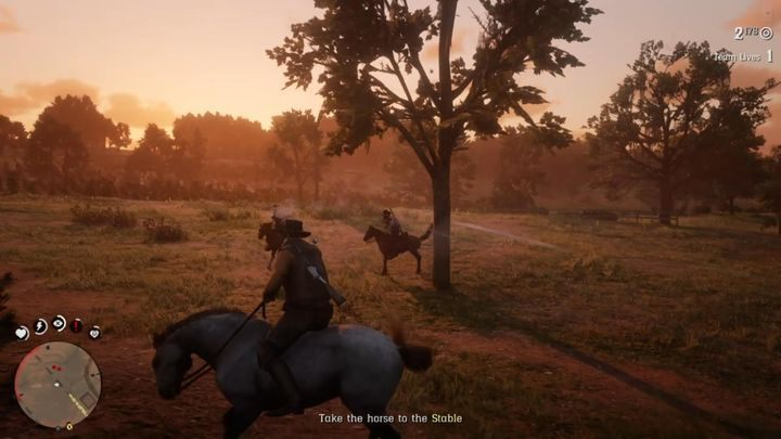 Approach a horse and calm it down - Honor Among Horse Thieves | Story missions in Red Dead Online - Story missions - Red Dead Online Guide