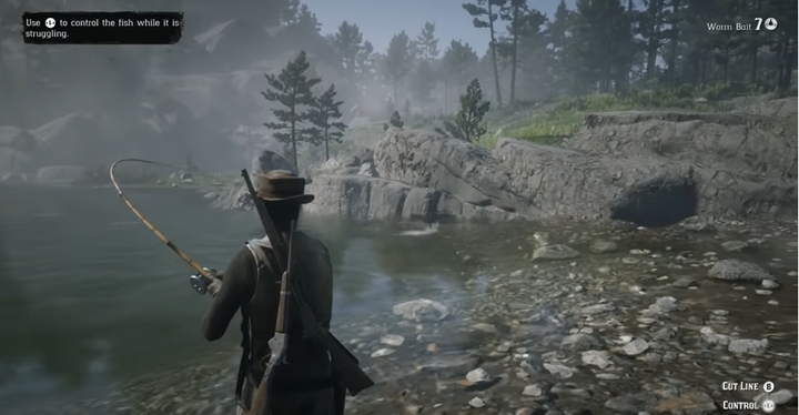 As far as fishing is concerned, it will be unlocked after reaching the rank of 14, i - Fishing and hunting in Red Dead Online - Combat and Equipment - Red Dead Online Guide