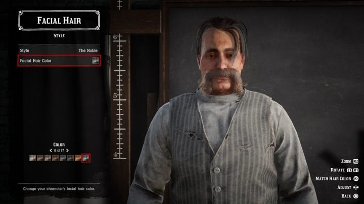 In Red Dead Online you cannot change the general appearance of your character - it is not possible to change the shape of your face, structure, age, skin color, voice tone, etc - How to change the appearance of your character in Red Dead Online? - FAQ - Red Dead Online Guide