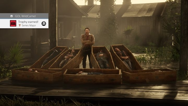Description: Take part in a Series - Trophies in Red Dead Online - Basics - Red Dead Online Guide