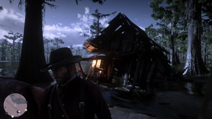 Enter the sunken cabin - Unique items Red Dead Redemption 2 - Secrets and collectibles - Red Dead Redemption 2 Guide
