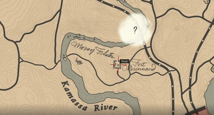 This item is west of Van Horn, on Kamassa Rivers eastern shore - Unique items Red Dead Redemption 2 - Secrets and collectibles - Red Dead Redemption 2 Guide
