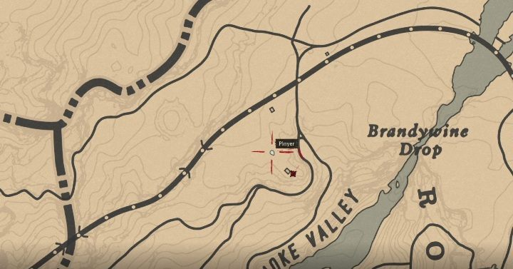 The Meteorite is north of Annesburg, near Roanoke Valley - Unique items Red Dead Redemption 2 - Secrets and collectibles - Red Dead Redemption 2 Guide