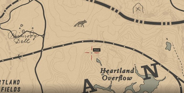 This item is east of Annesburg, near Three Sisters - Unique items Red Dead Redemption 2 - Secrets and collectibles - Red Dead Redemption 2 Guide