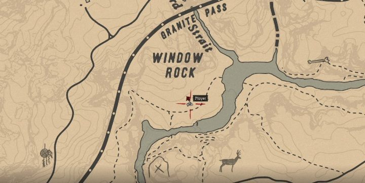 The Ancient Tomahawk is near Calumet Ravine - Unique items Red Dead Redemption 2 - Secrets and collectibles - Red Dead Redemption 2 Guide