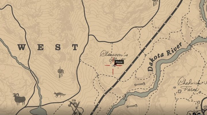The Nevada Hat is in the southern part of Ambarion, between Whinyard and Grannite Pass - Unique items Red Dead Redemption 2 - Secrets and collectibles - Red Dead Redemption 2 Guide