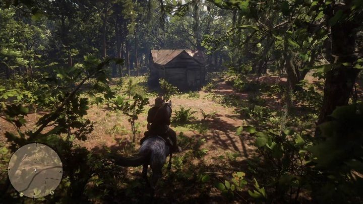 This cabin is south of Braithwaite Manor - Hidden cabins in Red Dead Redemption 2 - Secrets and collectibles - Red Dead Redemption 2 Guide