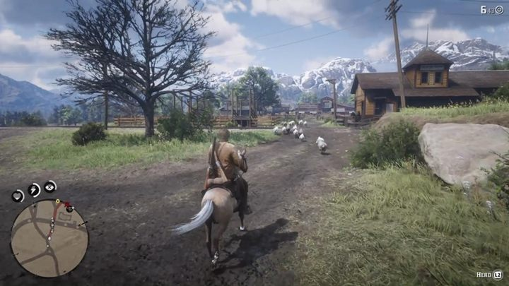 Your new task is to lead the herd to the town - The Sheep and the Goats - Red Dead Redemption 2 Walkthrough - Chapter 2 - Horseshoe Overlook - Red Dead Redemption 2 Guide