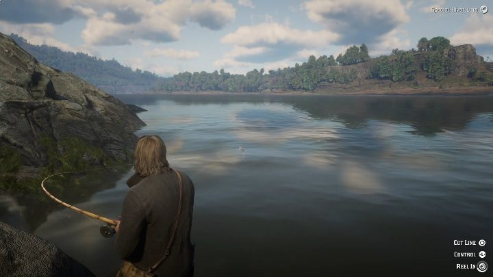 1 - Legendary Muskie fish in RDR2 - Legendary fish - Red Dead Redemption 2 Guide