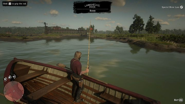 In this case you can cast the rod from two places - Legendary Bullhead Catfish fish in RDR2 - Legendary fish - Red Dead Redemption 2 Guide