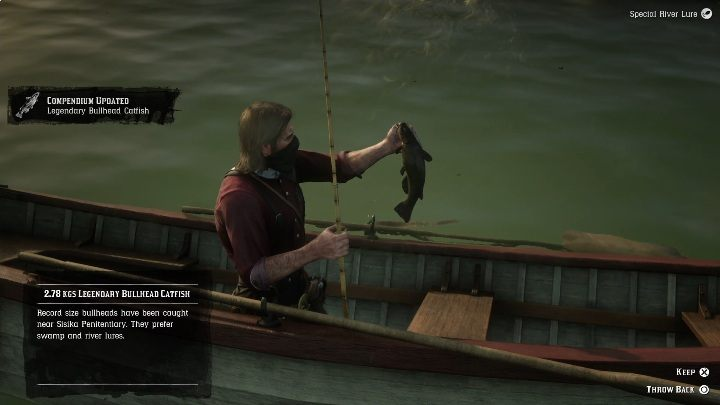 3 - Legendary Bullhead Catfish fish in RDR2 - Legendary fish - Red Dead Redemption 2 Guide