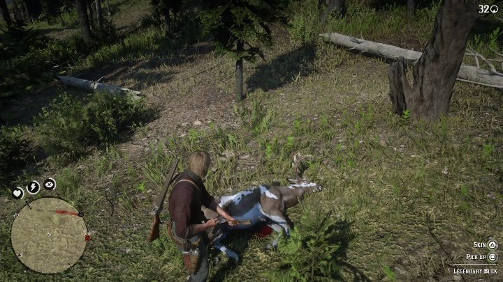 Act quietly so you dont scare your prey - Legendary Deer in Red Dead Redemption 2 - Legendary Animals - Red Dead Redemption 2 Guide