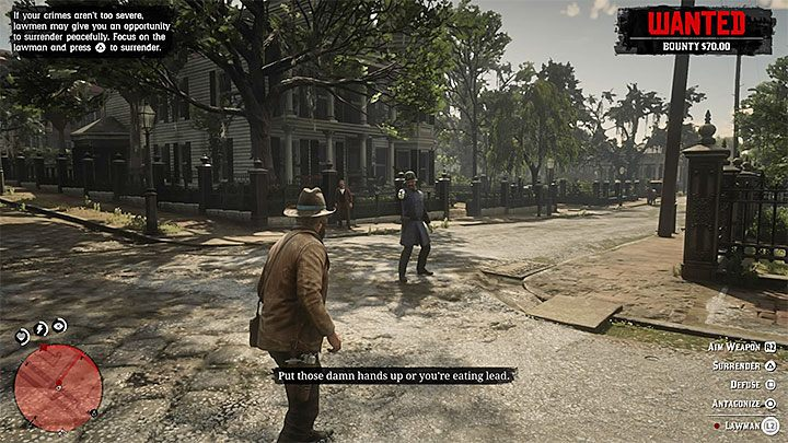 The second method is less obvious and involves surrender peacefully to law officers and serving a sentence in prison - How to remove the bounty from the hero in RDR2? - FAQ - Red Dead Redemption 2 Guide