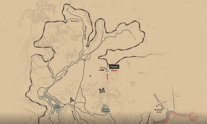 To get the first map you have to go to the northern part of the map, to the region of Ambarino - How to get a gold bar and where to sell it in Red Dead Redemption 2? - FAQ - Red Dead Redemption 2 Guide