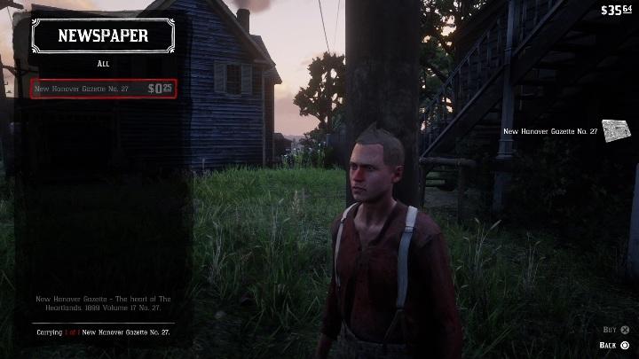 Red Dead Redemption 2 чит-коды в основном найдены в газетах - Как использовать чит-коды в Red Dead Redemption 2? - Основы игры - Red Dead Redemption 2 Guide