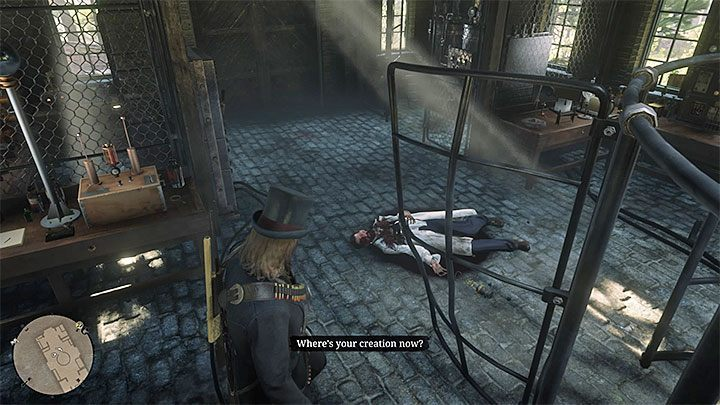 In order to complete Marko Dragicas story definitively, return to his laboratory after two days in the game world (you can speed up the passage of time using the beds) - A Bright Bouncing Boy | Side Quests in RDR2 - Side quests - Red Dead Redemption 2 Guide
