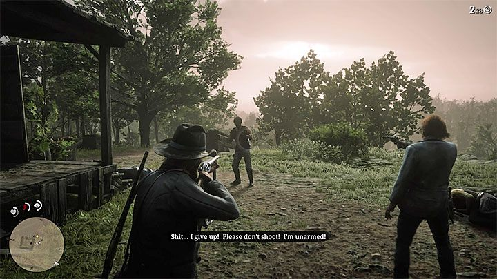 The mission marker can appear in the gang camp in the third chapter of the game - Dutchs Gang Missions and Jobs | Side Quests in RDR2 - Side quests - Red Dead Redemption 2 Guide