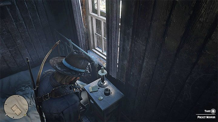 Go inside the cabin - Item requests for the gang members in RDR2 - Secrets and collectibles - Red Dead Redemption 2 Guide