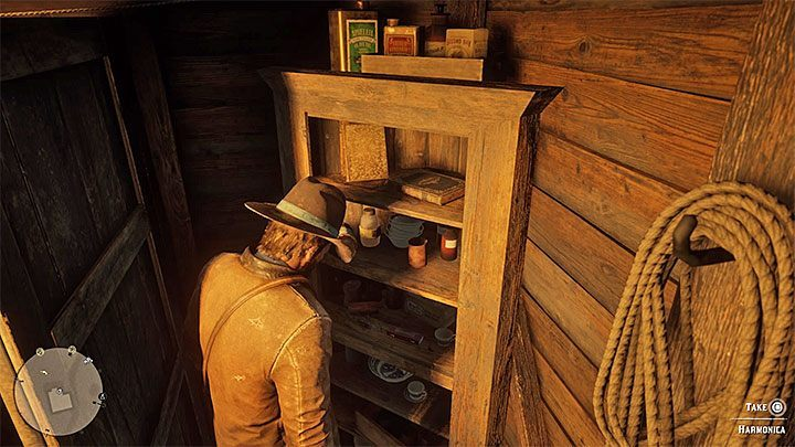 Enter the main building - Item requests for the gang members in RDR2 - Secrets and collectibles - Red Dead Redemption 2 Guide