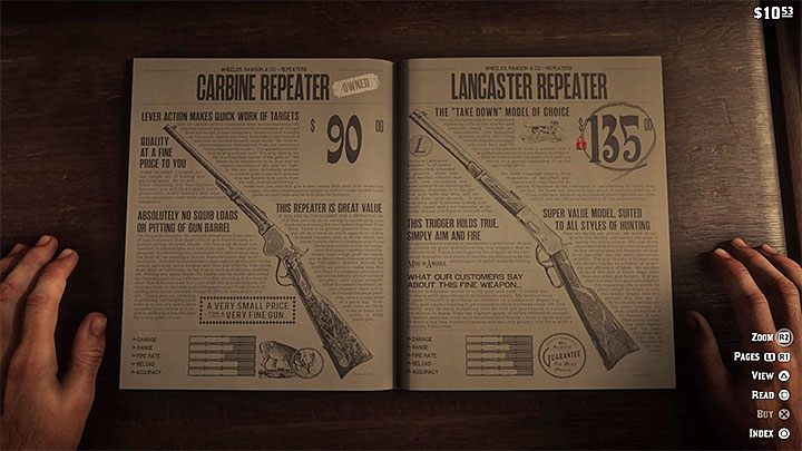 In our opinion, repeater carbines are the most interesting option for the majority of the fights in the game - The best weapons in Red Dead Redemption 2 - Game basics - Red Dead Redemption 2 Guide