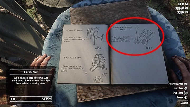 Leather Working Tools are fortunately quite easy to obtain - How to get the leather working tools needed for crafting in RDR2? - FAQ - Red Dead Redemption 2 Guide