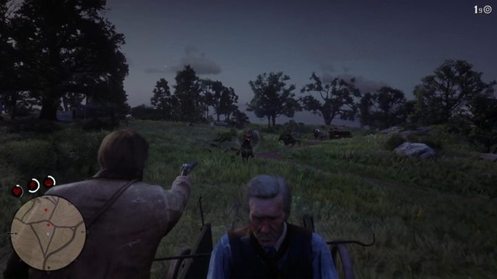 Hosea is in trouble - go down and shoot the enemy who captured your friend - Advertising, the New American Art I-II - Red Dead Redemption 2 Walkthrough - Chapter 3 - Clemens Point - Red Dead Redemption 2 Guide