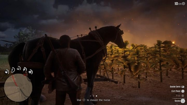 You reach the wagon with horses - cut them free - The Fine Joys of Tobacco - Red Dead Redemption 2 Walkthrough - Chapter 3 - Clemens Point - Red Dead Redemption 2 Guide