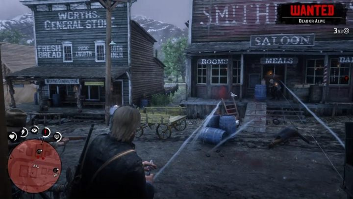 The second variant requires Arthur to use a dynamite - Sodom? Back to Gomorrah - Red Dead Redemption 2 Walkthrough - Chapter 3 - Clemens Point - Red Dead Redemption 2 Guide