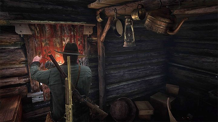 John must fulfill the writers last wish and set the cottage on fire with him inside - The American Inferno, Burnt Out in Red Dead Redemption 2 - Side quests - Red Dead Redemption 2 Guide