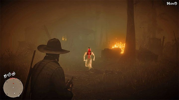 Cajun asks you to help him deal with the Night Folk - these people are near his cabin on the swamps - A Fine Night for It in Red Dead Redemption 2 - Side quests - Red Dead Redemption 2 Guide