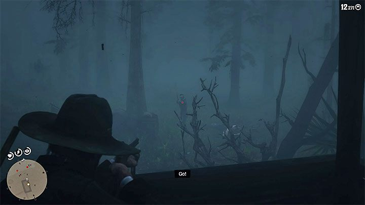 Enter the cabin - A Fine Night for It in Red Dead Redemption 2 - Side quests - Red Dead Redemption 2 Guide
