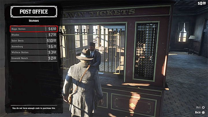The game has a well-developed railway network - trains travel accordingly to the schedule - How to use fast travel in Red Dead Redemption 2? - FAQ - Red Dead Redemption 2 Guide