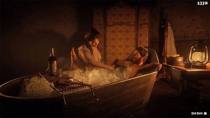 2 - How to take a bath in RDR2? - FAQ - Red Dead Redemption 2 Guide