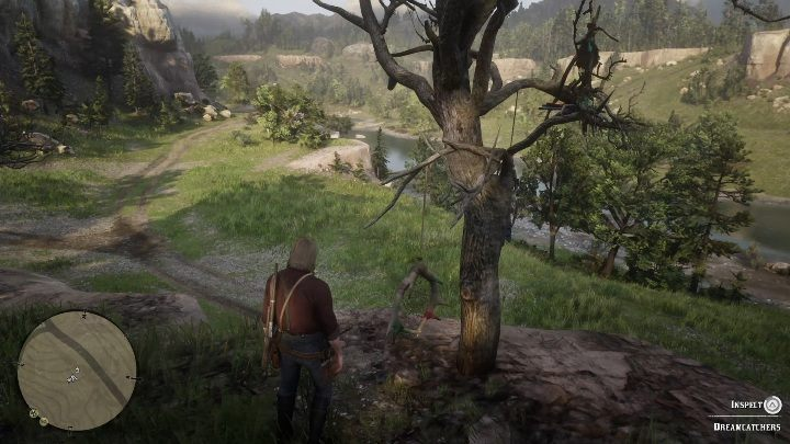 The fourth Dreamcatcher can be found south of Valentine, right next to the river - Dreamcatchers in RDR2 - Secrets and collectibles - Red Dead Redemption 2 Guide