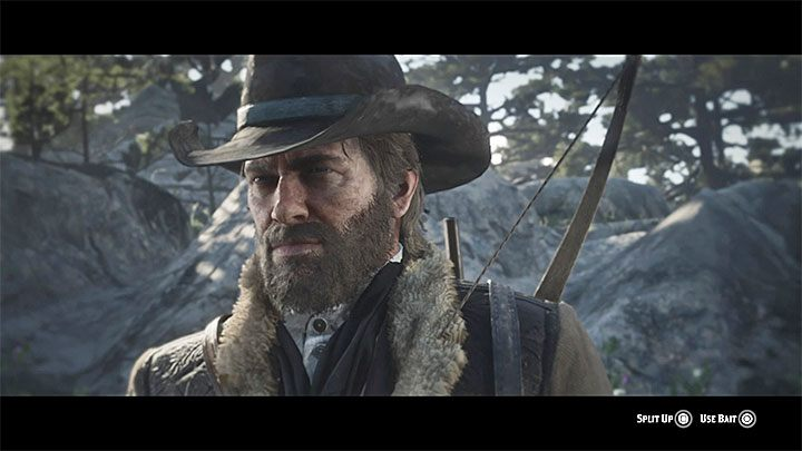 Examine the tracks and follow the lines that lead to the bears lair - Exit Pursued By a Bruised Ego - Red Dead Redemption 2 Walkthrough - Chapter 2 - Horseshoe Overlook - Red Dead Redemption 2 Guide