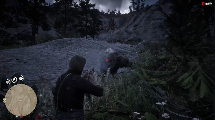 When you hunt a bear it is worth going with a heavy weapon - Legendary Bear tactics in Red Dead Redemption 2 - Legendary Animals - Red Dead Redemption 2 Guide