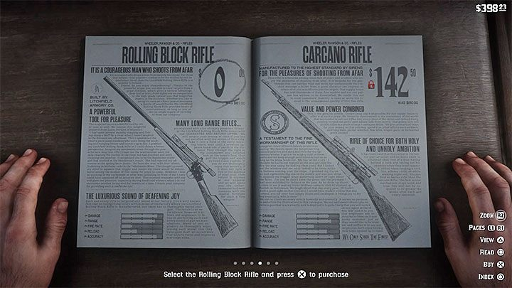After you have completed certain parts of the games story, you can also get a ready-made sniper rifle - How to get a scope for your rifle in RDR2? - FAQ - Red Dead Redemption 2 Guide