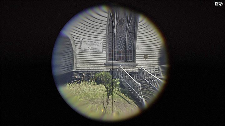 Depending on the type of rifle, the hero will automatically use the scope or it will be attached to an alternative weapon targeting method - How to get a scope for your rifle in RDR2? - FAQ - Red Dead Redemption 2 Guide