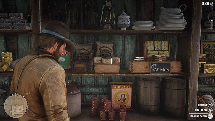 Two main ingredients are needed to brew coffee in the game - How do I make coffee in the RDR2 game? - FAQ - Red Dead Redemption 2 Guide