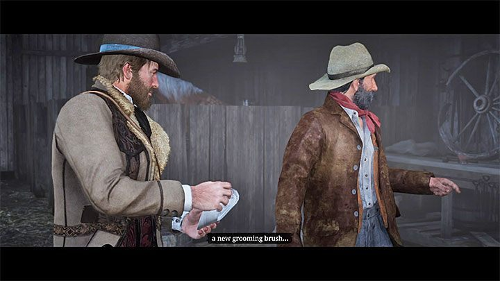 1 - How do I get the brush and clean my horse in RDR2? - FAQ - Red Dead Redemption 2 Guide