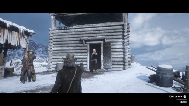 Wait patiently - once Micah runs behind the hut, the scene will initiate - American Venom - Red Dead Redemption 2 Walkthrough - Epilogue Part 2 - Beechers Hope - Red Dead Redemption 2 Guide